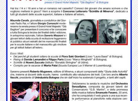 Concorso letterario Scintille – Finale a Bologna