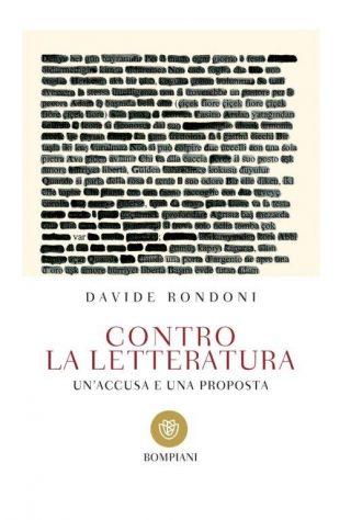 Contro la letteratura - Copertina