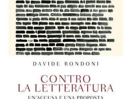 Contro la letteratura, di Davide Rondoni