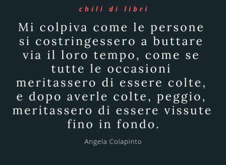 Il detestiario – di Angela Colapinto (Jona Editore)